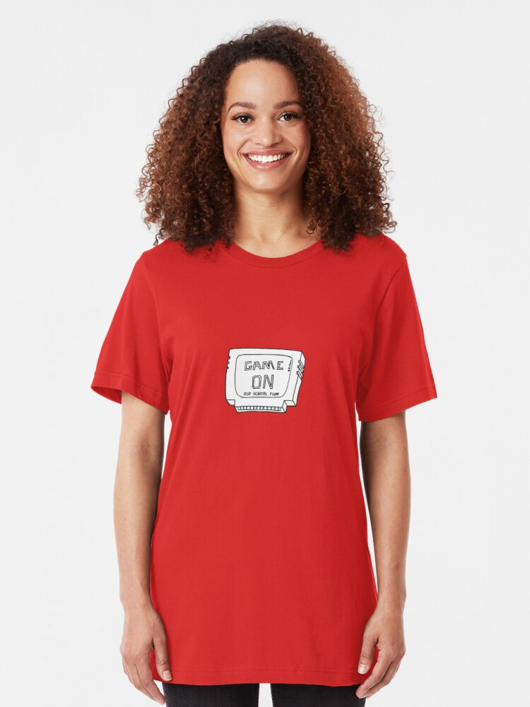 Alternate view of Fun in a Cartridge Slim Fit T-Shirt