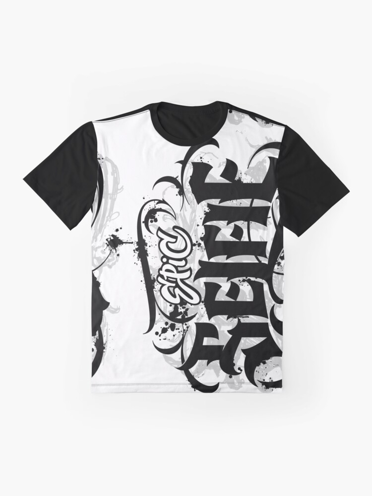 Alternate view of 'Epic Selfie' Black Goth Grunge Tattoo Hand Lettering Calligraphy Graphic T-Shirt