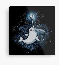 Sea Wizard Metal Print