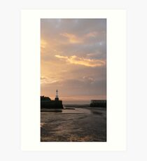 maryport sunset Art Print