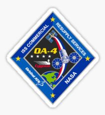 Cygnus CRS OA-4 Logo Sticker