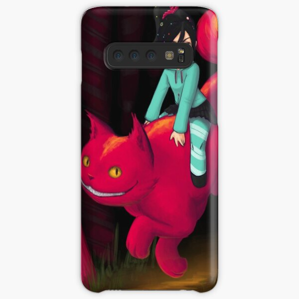 Vanellope and Cheshire Samsung Galaxy Snap Case