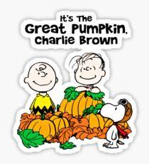 Halloween Charlie Brown (Peanuts) Sticker