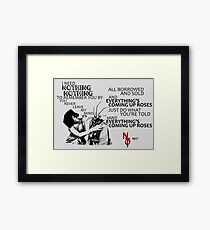 Everything's Coming Up Roses (Night Terrors of 1927) Framed Print