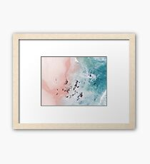 sea bliss Framed Print