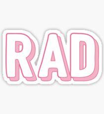 rad! Sticker