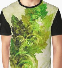 Leaf Reflection Graphic T-Shirt