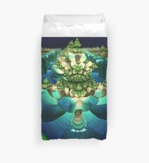 A Small World Duvet Cover