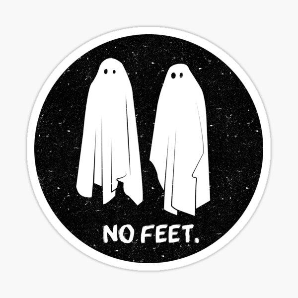 NO FEET - GHOSTS Sticker