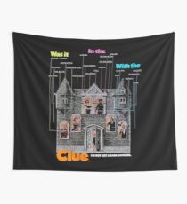 Clue Wall Tapestry