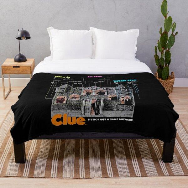 Clue Throw Blanket