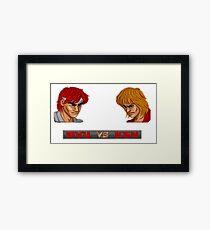 Street Fighter - 1987 Framed Print