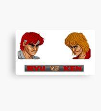 Street Fighter - 1987 Canvas Print