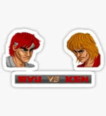 Street Fighter - 1987 Sticker