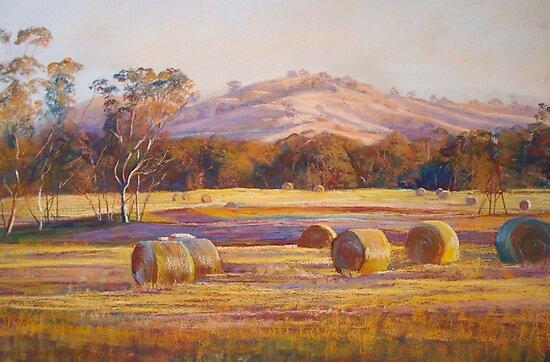 Fields of Gold - Tallarook by Lynda Robinson