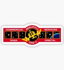 NASA: Orb-D1 Sticker