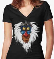 Crazy Rafiki Women's Fitted V-Neck T-Shirt
