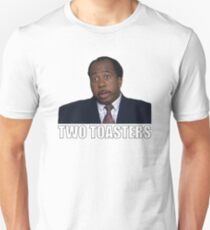Stanley Hudson - Two Toasters Unisex T-Shirt