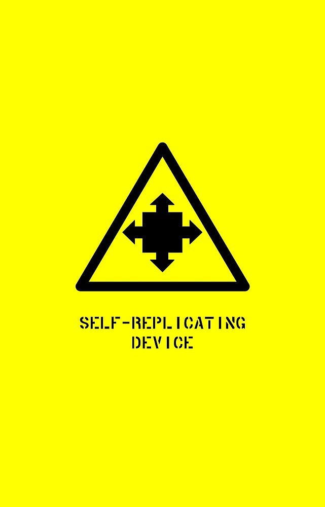 Self-Replicating Device by Rupert Russell