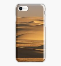 Sunbathed shadow dance of sand iPhone Case/Skin