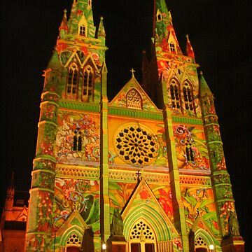 Vivid St Mary's Cathedral by Michaelm43