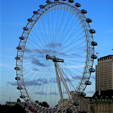london eye by Kacholek
