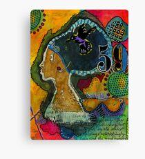 Sistah-VIDA Canvas Print