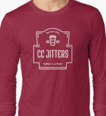 CC Jitters - Coffee In A Flash Long Sleeve T-Shirt