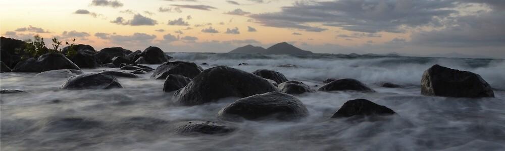 Mission beach rocks by kirstenfairfax