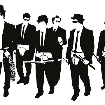 Mashup - Reservoir Dogs/A Clockwork Orange/Blues brothers by michelevalerio