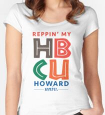 Howard University Women's Fitted Scoop T-Shirt