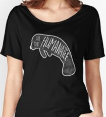 Oh, the huMANATEE pun Women's Relaxed Fit T-Shirt