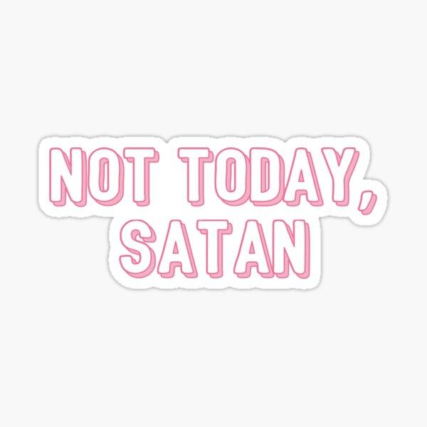 Satán Pegatina