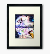The Queen of Everything  Framed Print