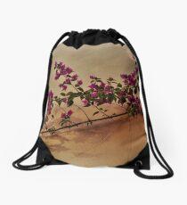 Cap Ferrat  Bougainvillea Drawstring Bag