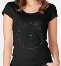 Elder Sign Cthulhu Women's Fitted Scoop T-Shirt