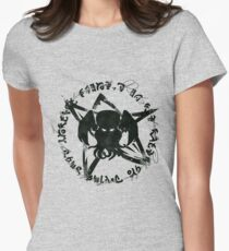 Elder Sign Cthulhu Womens Fitted T-Shirt