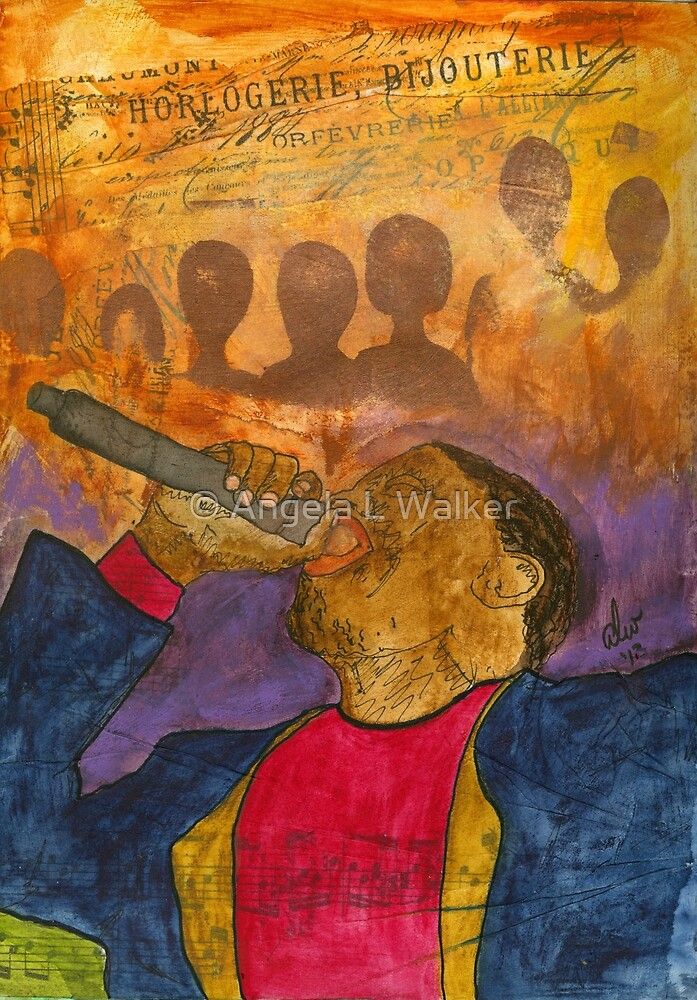 The Soul Singer by © Angela L Walker