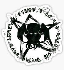 Elder Sign Cthulhu Sticker