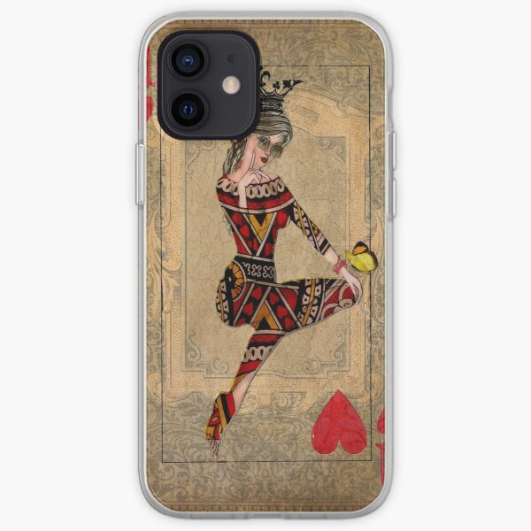 Queen of Hearts iPhone Soft Case