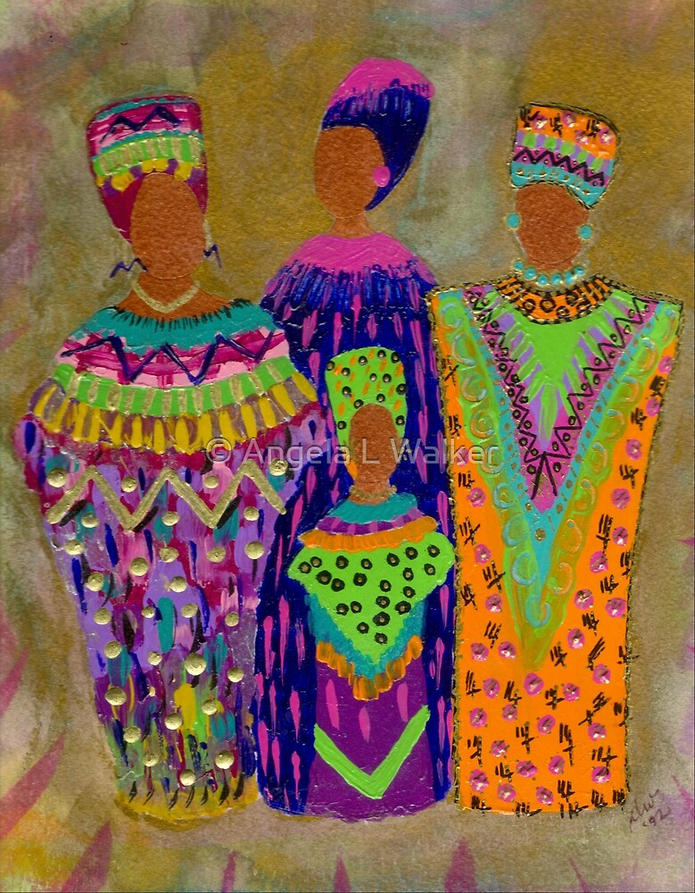 We Women 4 by © Angela L Walker