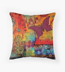 Freedom to CREATE Whatever I Want Throw Pillow
