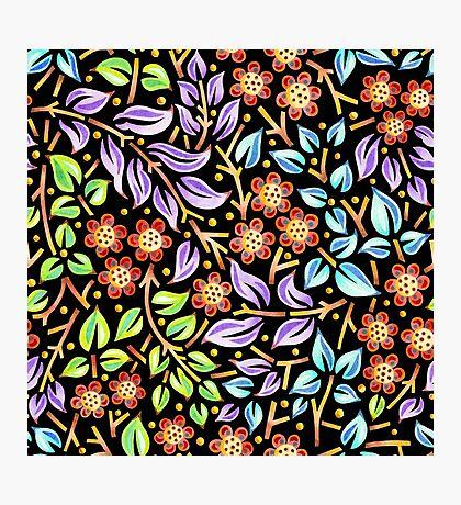 Floral Filigree  Photographic Print