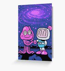 Panic Bomber W - Space 2 ☆ Greeting Card