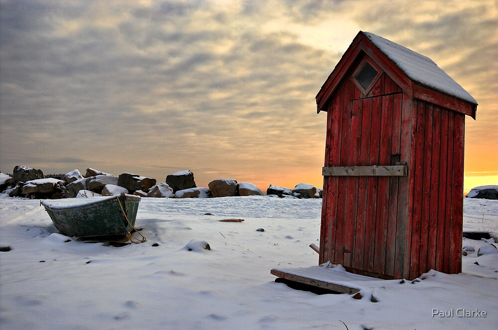 Outhouse by Paul Clarke
