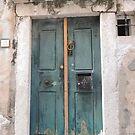 Dubrovnik - Blue Door by mikequigley