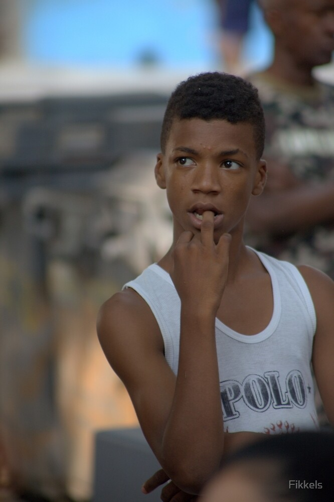 Young Havana resident at street dance show by Fikkels