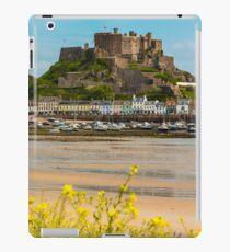Mont Orgueil Castle Gorey iPad Case/Skin