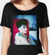Model shirt (Shaina Mode) Women's Relaxed Fit T-Shirt