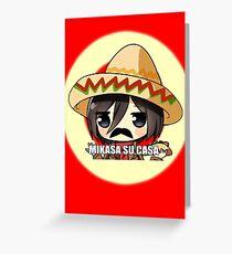 Mikasa Su Casa  Greeting Card